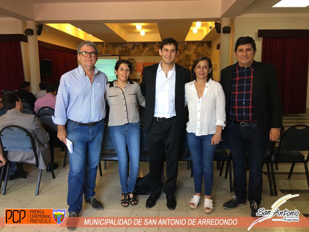 Cicerone particip de una jornada de capacitaci n for Web ministerio del interior